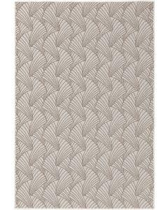 In- & Outdoor Vloerkleed Nillo Grijs/Taupe