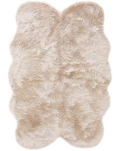 Faux Fur Elmo Beige