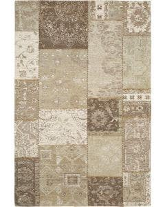 Vloerkleed Plat Geweven Frencie Beige